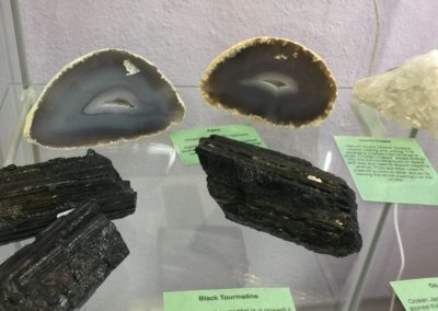Black Tourmaline & Agates